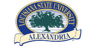 Louisiana State University Alexandria Logo